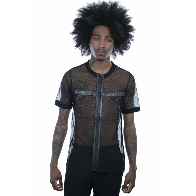 Killstar Fishnet Hemd - Alastor XXL