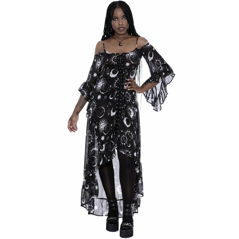Killstar Maxikleid - Astral Light XS