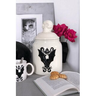 Killstar Ceramic Jar - Crypt