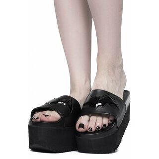 Killstar Platform Sandals - Bloodbath Slides