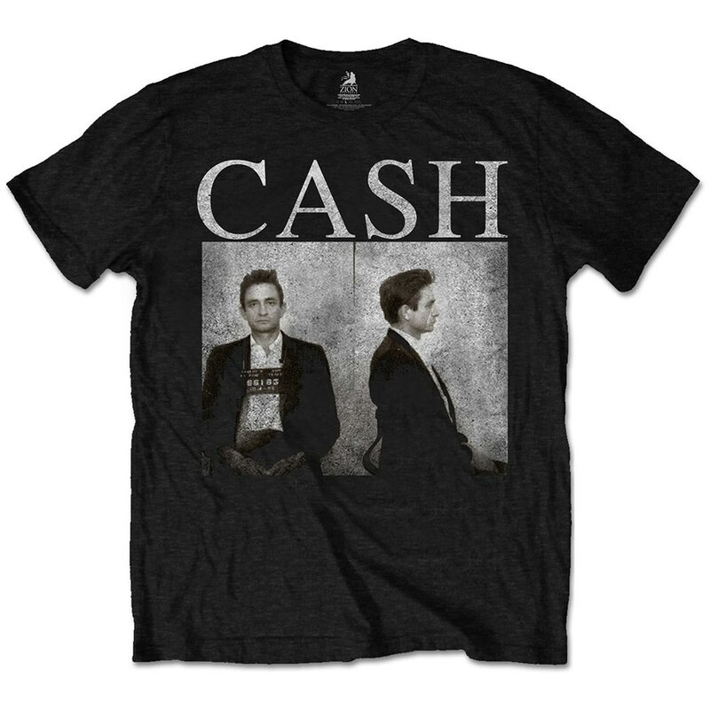 Johnny Cash T-Shirt - Mug Shot