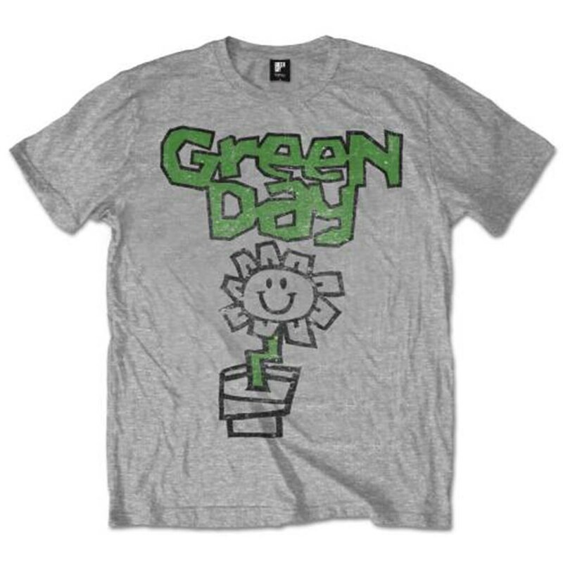 Green Day T-Shirt - Flower Pot M