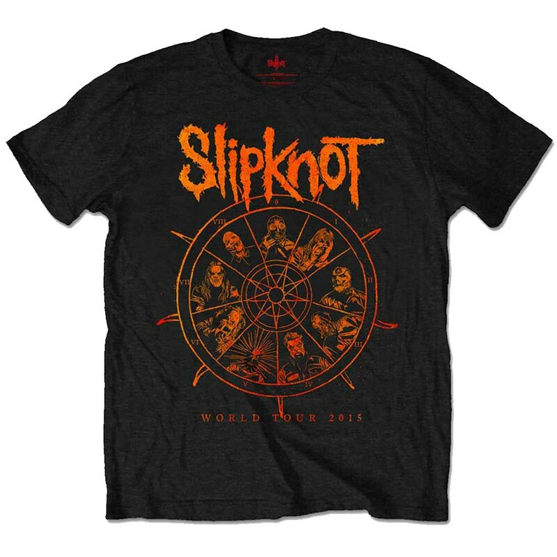 Slipknot T-Shirt - The Wheel M