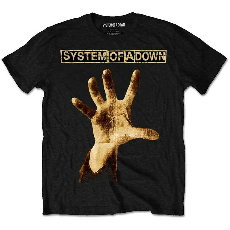 System Of A Down T-Shirt - Hand S
