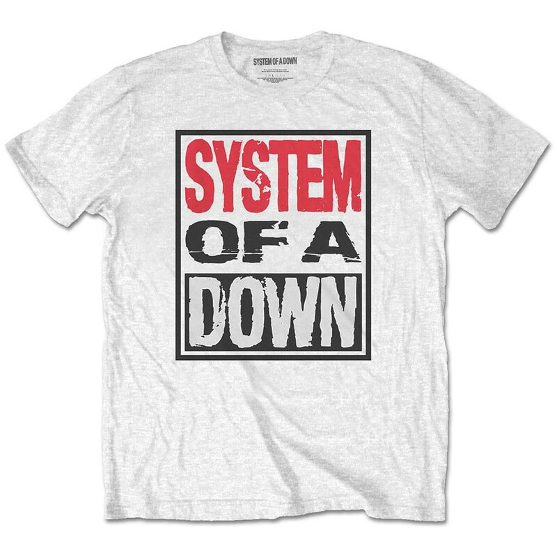 System Of A Down T-Shirt - Triple Stack Box S