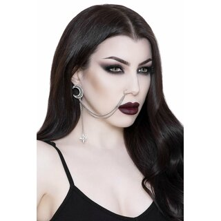 Killstar Earring with Nose Chain - Hazelle