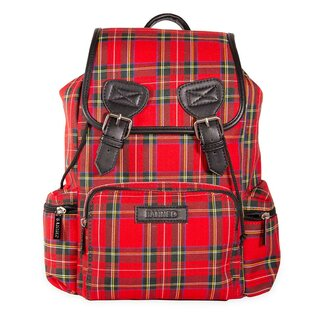 Banned Alternative Backpack - Kenneth Red