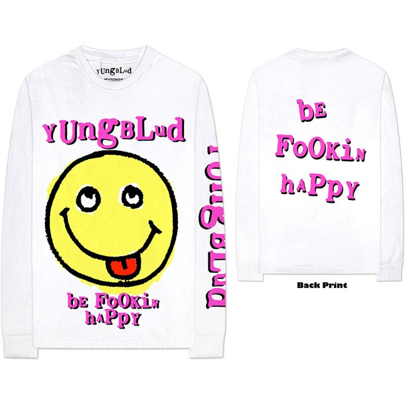 Yungblud Long Sleeve T-Shirt - Raver Smile