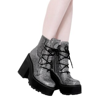Killstar Platform Boots - Broom Rider Glitter