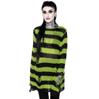 Killstar Knitted Sweater - Slimer