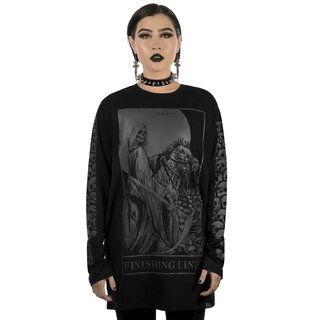Killstar Long Sleeve T-Shirt - Finishing Line