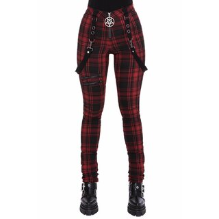 Killstar Stretch Trousers - Doll Parts