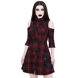Killstar Mini Dress - Paranormal Tartan