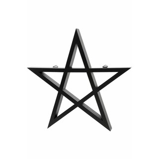 Killstar Wall Shelf - Pentagram