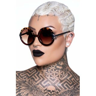 Killstar Sunglasses - Lunar Doll Tortoiseshell