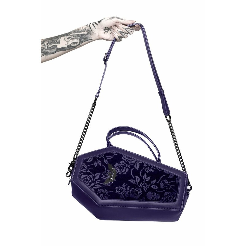 Killstar Handbag - Vampires Kiss Purple