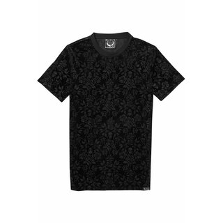 Killstar Unisex Velvet T-Shirt - Nocturnal