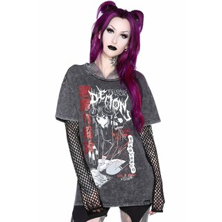 Killstar Relaxed Top - Dark Arts