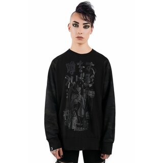 Killstar Sweatshirt - Rumour Camo