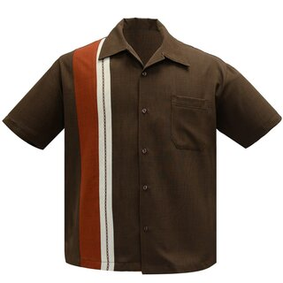 Steady Clothing Vintage Bowling Shirt - The Charles Brown