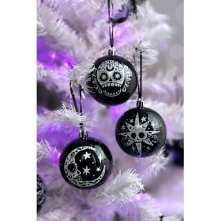 Killstar Christmas Ornaments Set of 12 - Sugarhigh Baubles