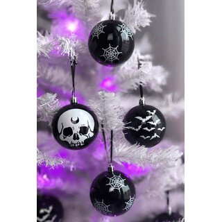 Killstar Christmas Ornaments Set of 12 - Spooky Baubles