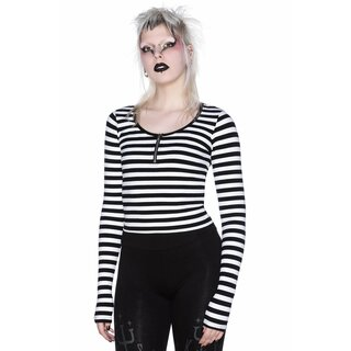 Killstar Long Sleeve Top - Izora White