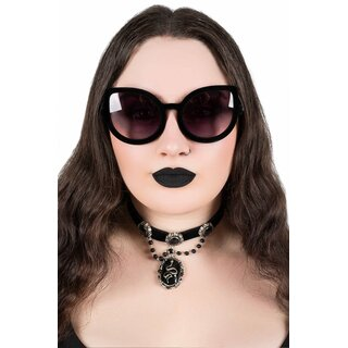 Killstar Sunglasses - Space Kitty Velvet