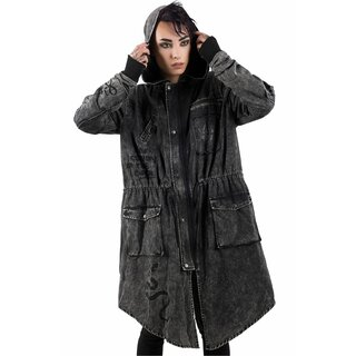 Killstar Parka Jacket - Serpents