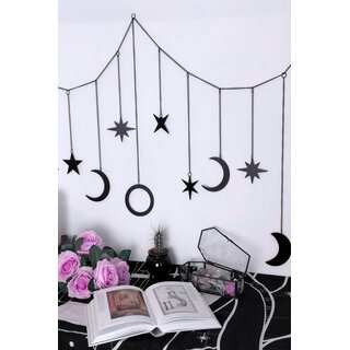 Killstar Hanging Banner - Astral Path Black