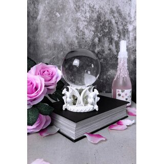 Killstar Crystal Ball Stand - Gate Keeper White