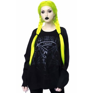 Killstar Knit Sweater - Blazed Out