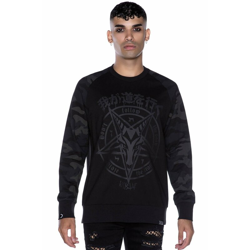 Killstar Sweatshirt - Darkpaths Camo