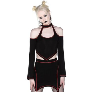 Killstar Crop Top - Techno Witch