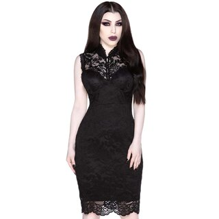 Killstar Pencil Dress - Laced-Up