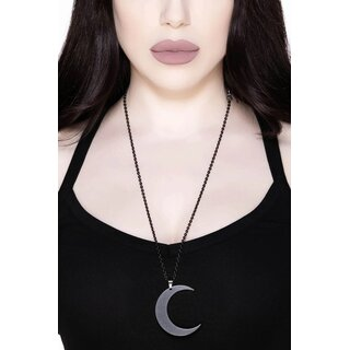 Killstar Necklace - Moon Black