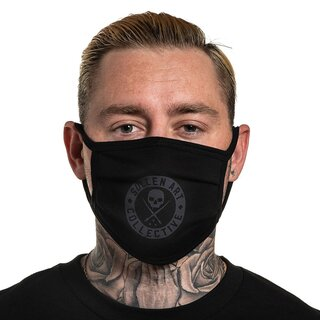 Sullen Clothing Face Mask - BOH Black