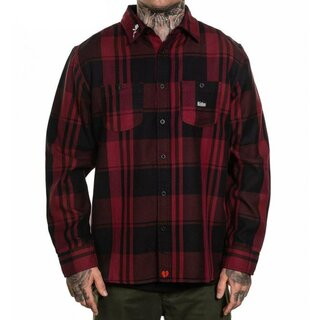 Sullen Clothing Flannel Shirt - Valentine