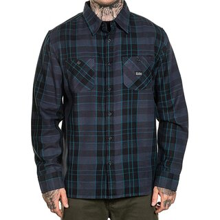 Sullen Clothing Flannel Shirt - Electric