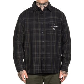 Sullen Clothing Flannel Shirt - Bars