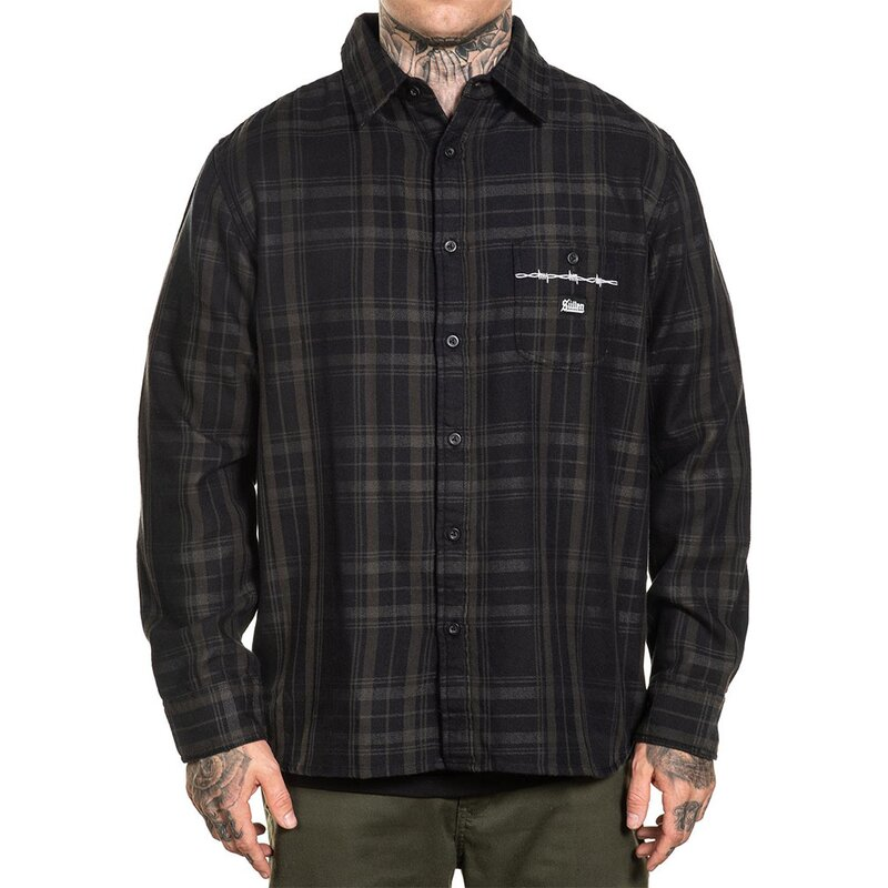 Sullen Clothing Flanellhemd - Bars 3XL