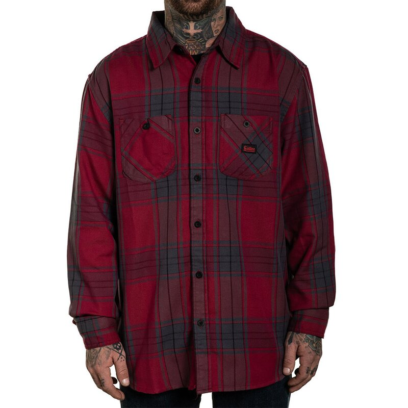 Sullen Clothing Flanellhemd - Empire M