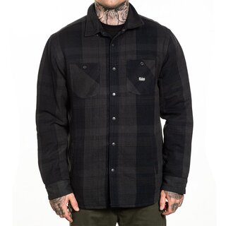 Sullen Clothing Flannel Jacket - Asphalt