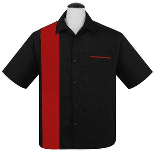 Steady Clothing Vintage Bowling Shirt - Single Poplin...