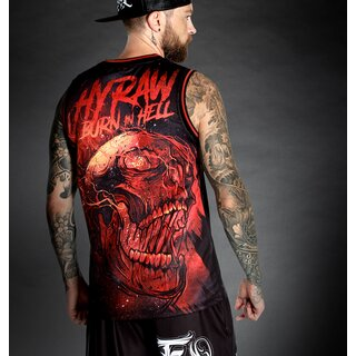 Hyraw Basketball Tank Top - Burn In Hell