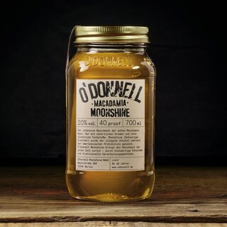 ODonnell Moonshine Liquor - Macadamia 700ml