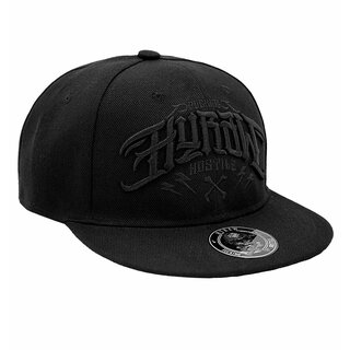Hyraw Snapback Cap - Hostile Black