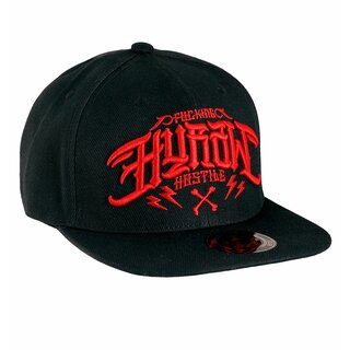 Hyraw Snapback Cap - Hostile Red