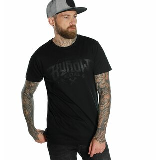 Hyraw T-Shirt - Noir Logo Black