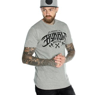 Hyraw T-Shirt - Noir Logo Grey